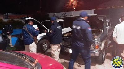 Automotores recupera 6 vehículos del poder de un abogado en Luque •