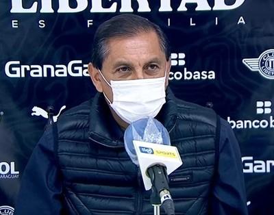 Ramón Díaz desea que Libertad juegue mejor