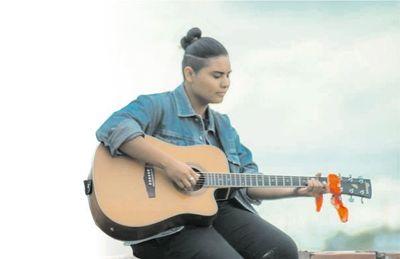 Bianca Orqueda, cantante indígena