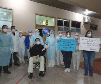 Concepción: paciente vence al COVID-19 tras 11 días de internación en terapia