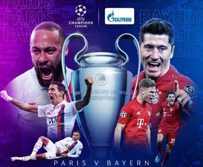 Bayern Múnich y PSG van por la Champions League