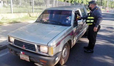 Caminera no controla si conductor proviene de Asunción o Central
