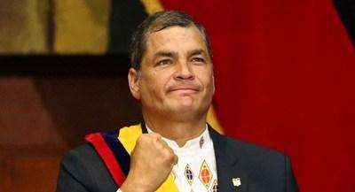 Correa vuelve por el poder en Ecuador, ahora como candidato a vicepresidente
