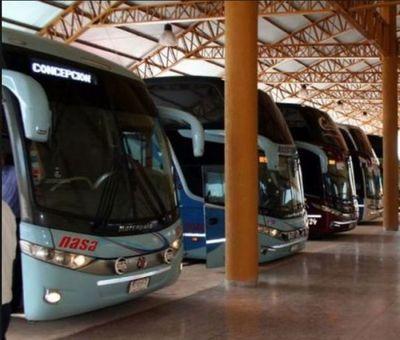 Viajes de media y larga distancia para Asunción y Central están suspendidos