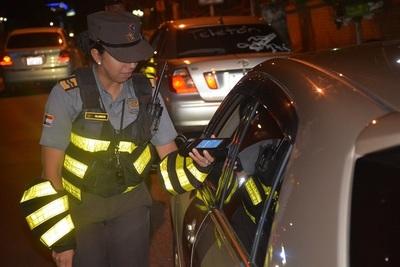 Caminera reporta que 148 conductores dan positivo al alcotest