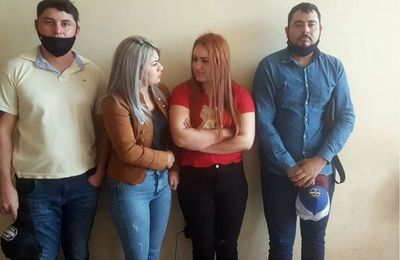 Detienen a cinco personas por robo de maquina sembradora en Cruce Bella vista