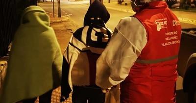 Piden reportar niños en situación de calle ante bajas temperaturas