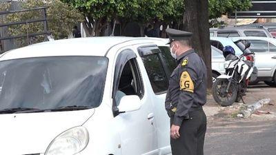 Caminera reporta que 148 conductores dieron positivo al alcotest