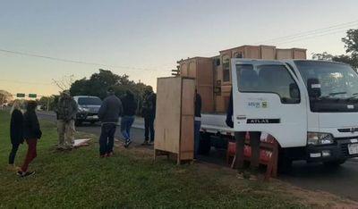 Interceptan en Guayaybí cargamento de marihuana que iba a la Argentina