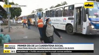 Multan a buses con exceso de pasajeros