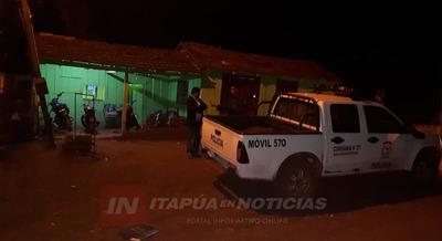 HOMBRE HERIDO POR ARMA BLANCA EN SAN BUENAVENTURA ITAPÚA POTY.