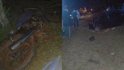 Tres heridos de gravedad en el accidente de tránsito en San Antonio Misiones
