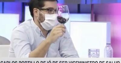 """""""Vale un trago"""", la respuesta de Sequera al confirmarse la renuncia de Portillo"""