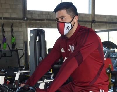 Jorge Moreira está de vuelta en River Plate