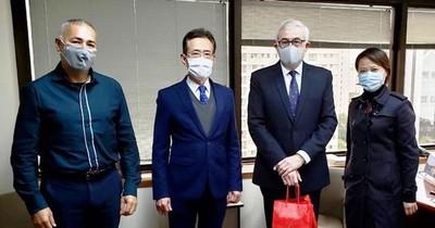 Diplomáticos planean promociones para inversores de Taiwán