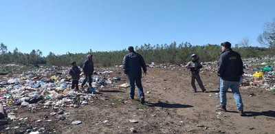 Intervienen vertedero municipal de Paso Yobái por inadecuado manejo de residuos