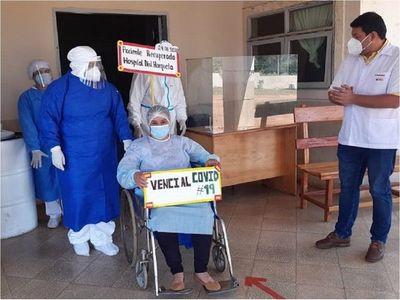 Mujer embarazada vence al Covid-19 en Concepción