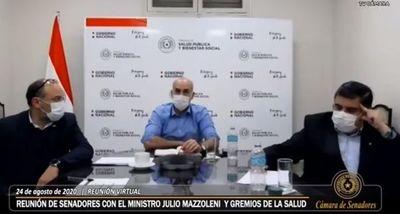 Tras cinco horas de quejas, médicos reciben las mismas promesas de Mazzoleni