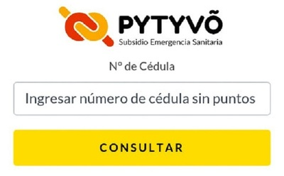 ▶ Consultá aquí el estado de tu postulación al Programa Pytyvõ