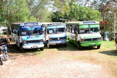 Sacan de circulación 12 buses con habilitaciones vencidas en el 2018
