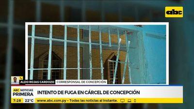 Intento de fuga en el penal de Concepción