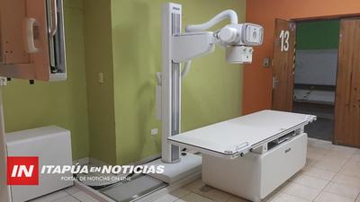 HOSPITAL DE CNEL. BOGADO RECEPCIONÓ NUEVO EQUIPO DE RAYOS X
