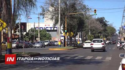 POLICÍA MUNICIPAL RATIFICA JURISDICCIÓN SOBRE AVENIDAS CÉNTRICAS DE ENCARNACIÓN