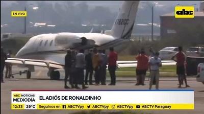 Paso de Ronaldinho por Paraguay ya es historia