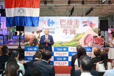 Primer envío aéreo de cortes de carne premium de Paraguay llegó a Taiwán