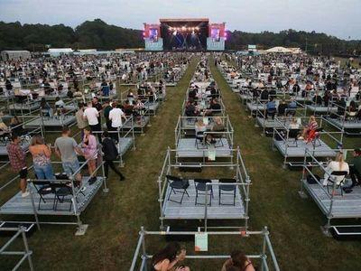 Los conciertos con distanciamiento social ya son una realidad