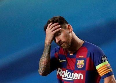 El Barça se enfrenta a un nuevo golpe: Messi anuncia que quiere irse
