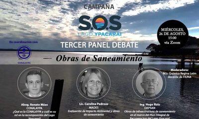 """""""Obras de Saneamiento"""" será el próximo debate de la campaña S.O.S Lago Ypacaraí"""