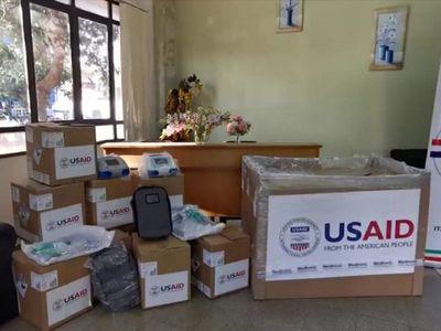 Covid-19: Itapúa recibe 12 respiradores donados por Gobierno estadounidense