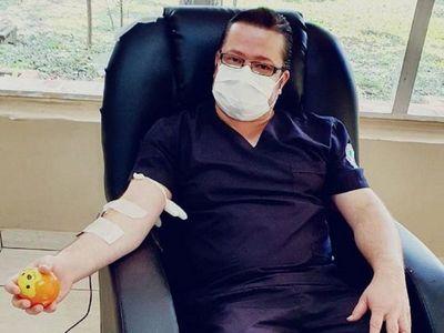 Ya son 14 los donantes de plasma en CDE