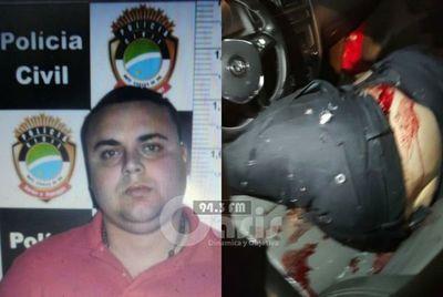 Brasileño fue acribillado con 25 disparos en Pedro Juan