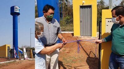 Santa Rosa; inauguran ampliación de sistema de agua potable en Gabino Rojas