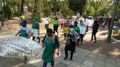 Bañadenses piden a la Cámara de Diputados aprobar ley de ollas populares