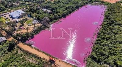 MADES constata que empresa sigue arrojando desechos en Laguna Cerro