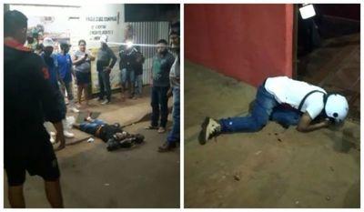 Tiroteo en un intento de asalto a una carnicería dejó un asaltante muerto y otro herido en Ponta Porã