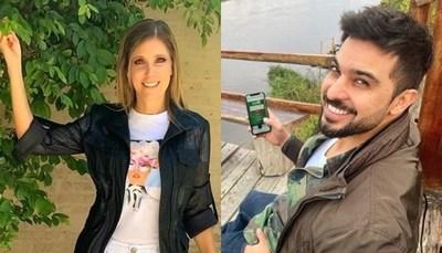 """Sanie López y Carlitos se divierten en los cortes de """"Vive la Vida"""""""