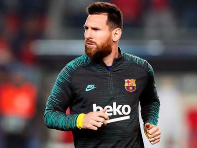 Messi se presentará a los entrenamientos del Barcelona