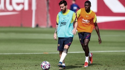 Informan que Messi se presentará el lunes al entrenamiento de Barcelona