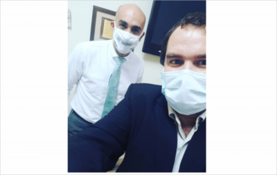 Bebeto Almirón en cuarentena y a espera de resultado por COVID