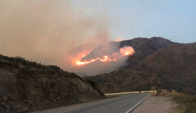 HOY / Incendios afectan a once provincias en Argentina