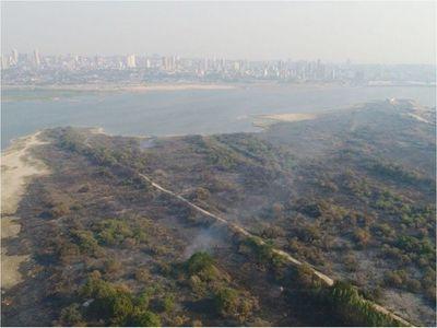 Más de 20 incendios  se registraron en la  Bahía de Asunción este año