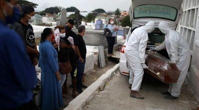117.000 muertes por COVID-19 en Brasil