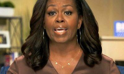 Michelle Obama y un collar muy bien seleccionado