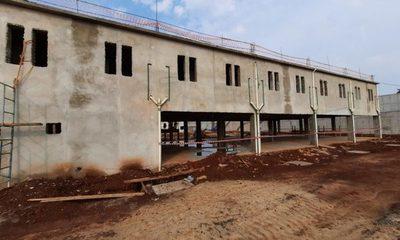 Nueva penitenciaría de Minga tiene 48% de avance