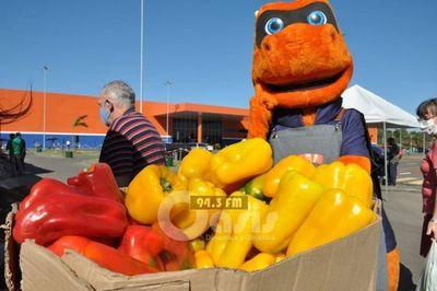 Feria que une a todos los productores de Concepción y zona norte