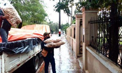 SEN distribuyó casi 1.200.000 kilos de alimentos para las ollas populares – Diario TNPRESS